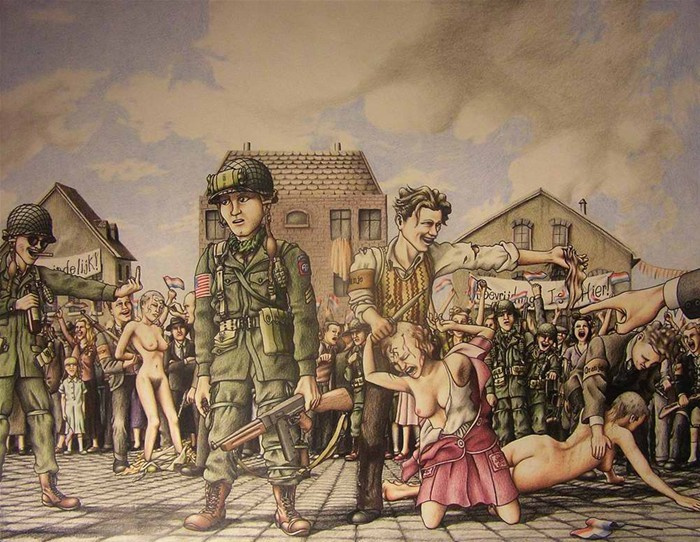 漫画二战经典漫画小图片展示a漫画被子战役历史夹的睡觉图片