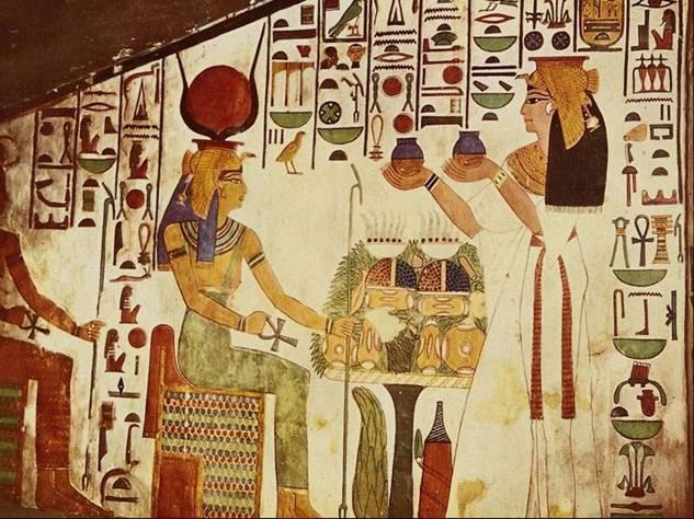 神秘的古埃及壁画