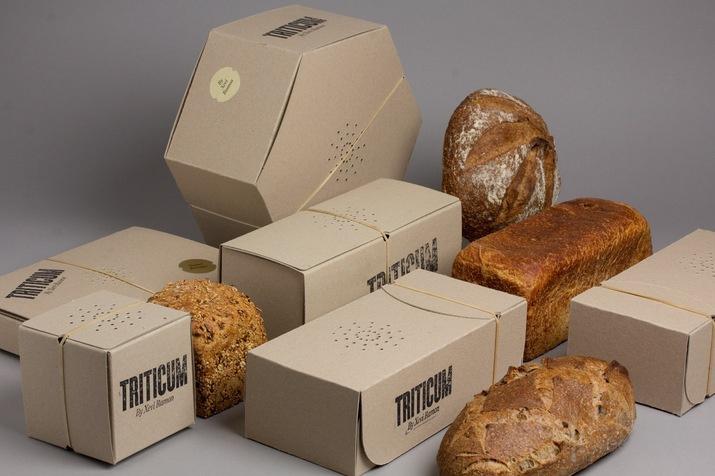 创意包装设计:可以闻到香味的面包盒