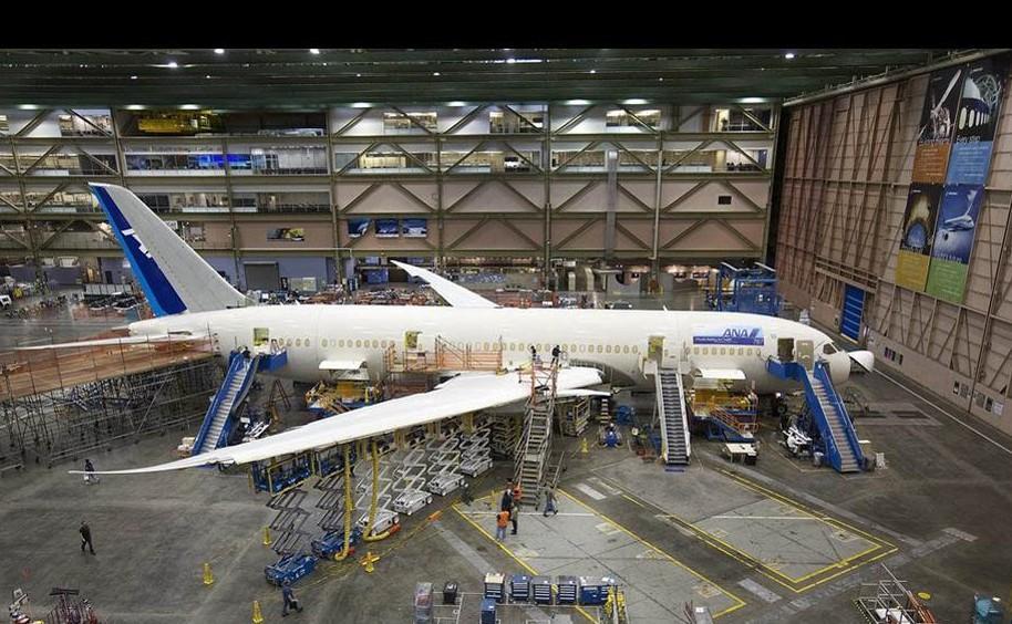 探秘波音-777生产线