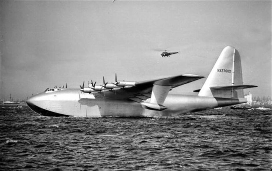 """10-美国休斯公司h-4""""大力神""""号水上飞机:号称"""