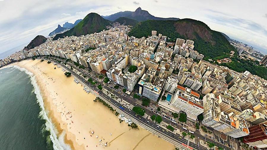全球城市3d效果全景图