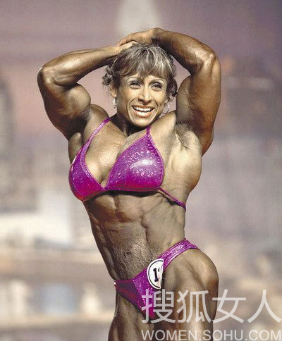 美女与锰男性交_【转载】 各国肌肉美女盘点:萝莉面孔猛男身
