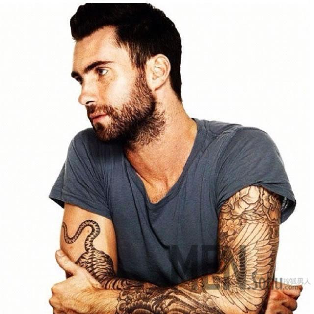 纹身榜样 男人该这样驾驭纹身