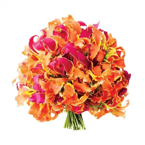 绝美绚丽新娘手捧花