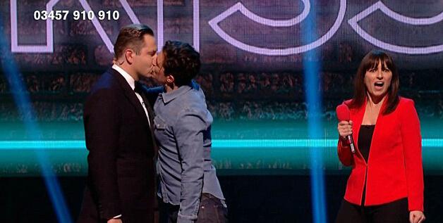 基情四射!奥兰多布鲁姆为慈善激吻同性
