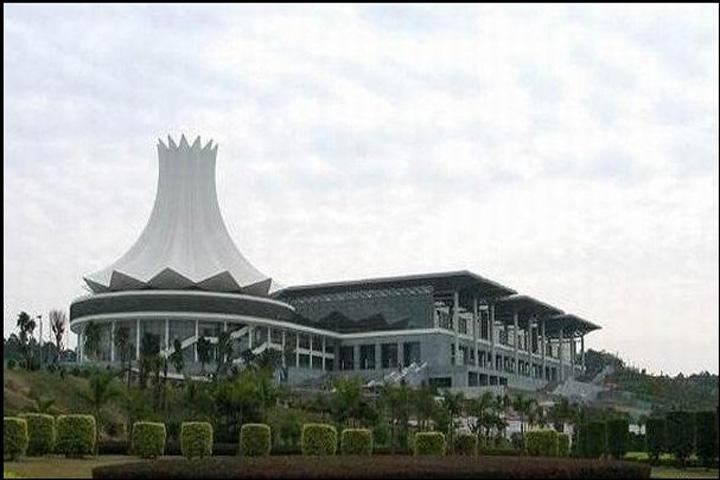 中国34个省会标志性建筑 - 东海浪波 - 东海浪波——浪花里飞出欢乐的歌