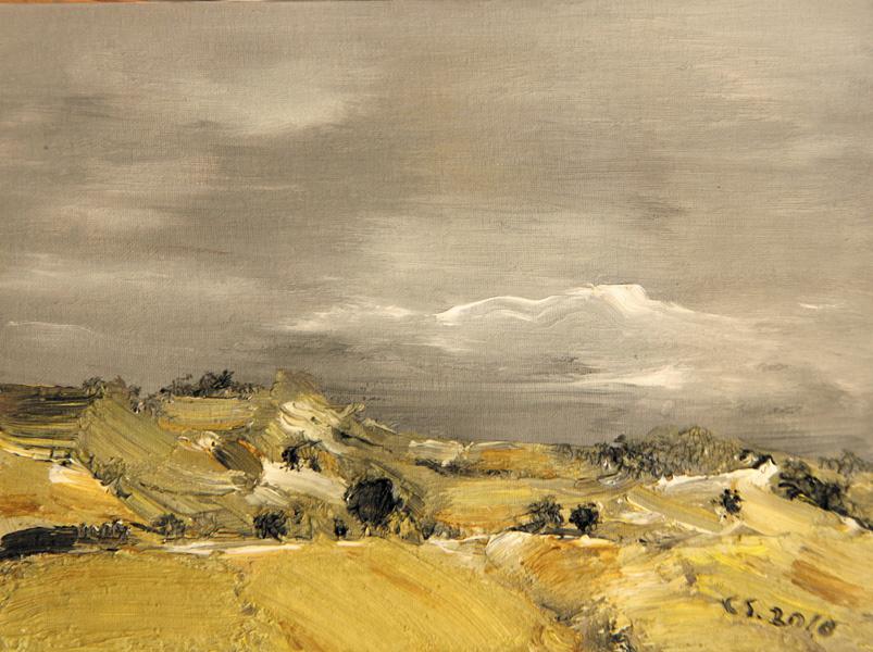 常颂油画作品欣赏:风景系列