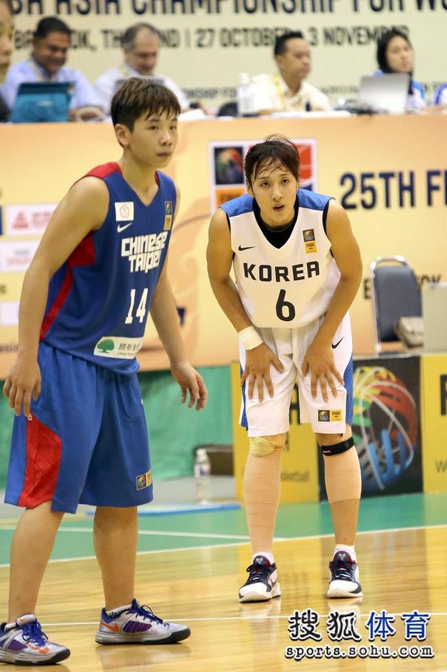 高清:韩国女篮战台北