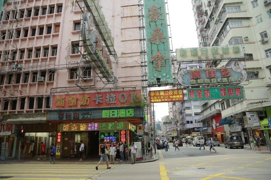 一楼一凤 实拍香港色情业