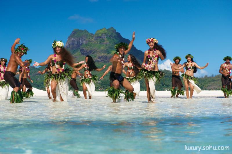 私享太平洋风情 法属波利尼西亚小岛