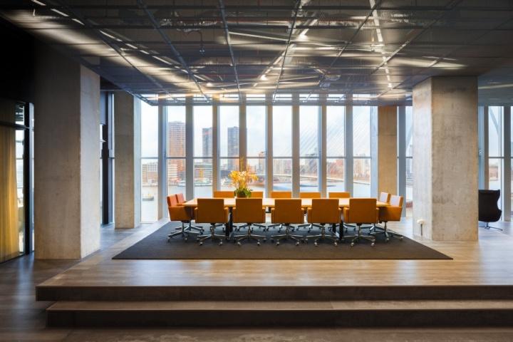 荷兰简约现代贸易公司办公室设计