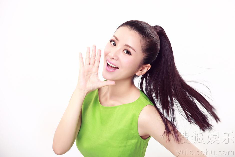 刘庭羽最新早春写真曝光 甜美笑容清丽动人