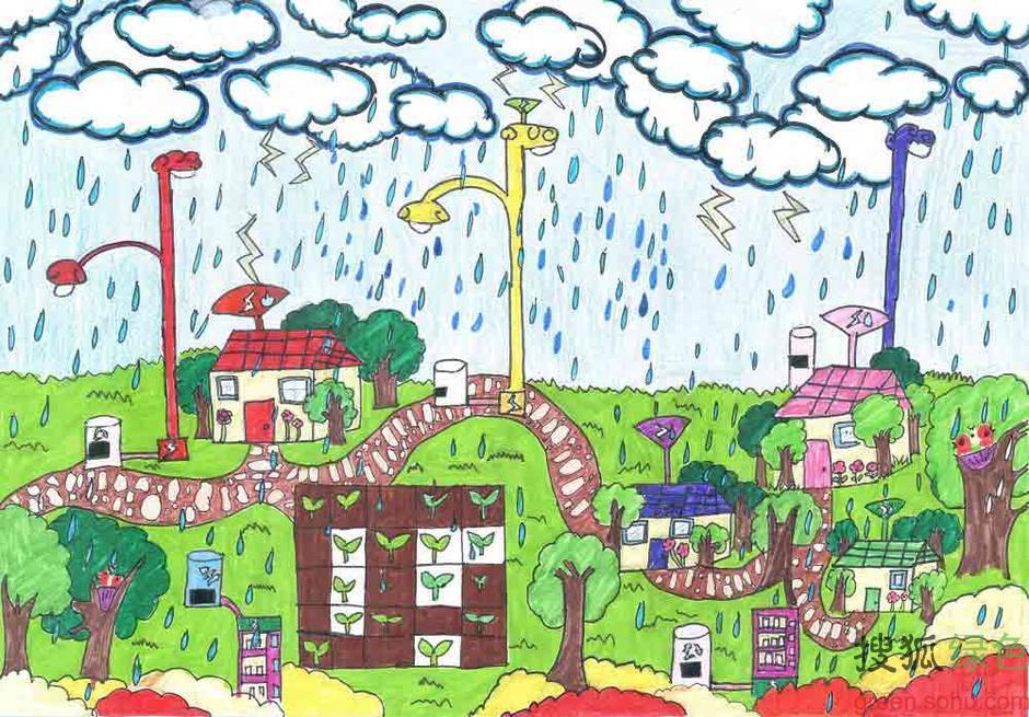 2013植树节:儿童画作呼吁
