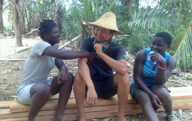 这一切使加纳人对于上林帮形成爱和图片