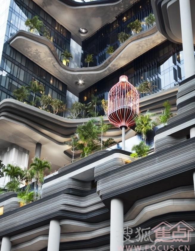 空中花园设计_空中花园设计平面图_巴比伦空中花园全景
