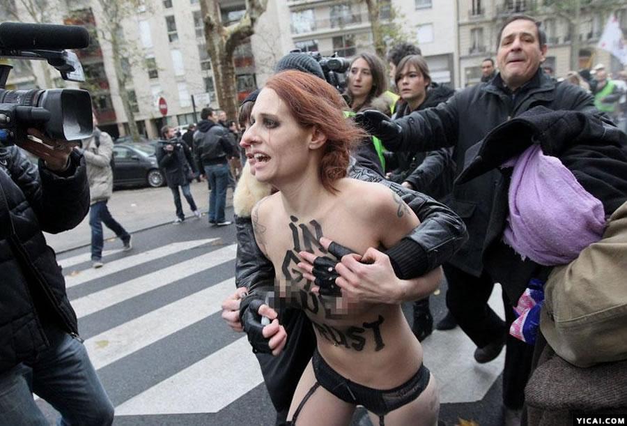 乌克兰美女乳房政治