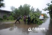 前天下午2点45分,市气象台发布信息,通报暴雨红色预警解除。来势汹汹的麦德姆告别青岛,沿东北...