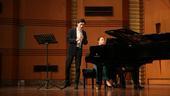 """搜狐娱乐讯 王弢2017年""""生命的律动""""单簧管独奏音乐会全国巡演,校园部分的西安、成都站已完美收官。..."""
