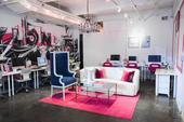 Nylon杂志社需要一个时尚的办公设计,以满足他们以时尚和音乐为中心的品牌。该公司让Homepoli...