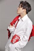 搜狐娱乐讯 近日,刘维曝光了一组时尚大片,身穿LV x Supreme联名款的他潮范十足,同时还有一...
