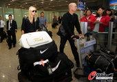 9月28日,网坛第一美女莎拉波娃抵达北京,为即将开始的中国公开赛做准备。