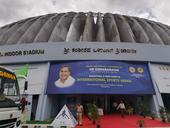 2017年女篮亚洲杯在印度的班加罗尔举行,搜狐体育派出了前方记者进行现场报道,带您探访女篮比赛主场馆...