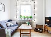 对于单身的人儿来说,有一个惬意适合的小窝亦然不易。就如这28平米直一筒筒的公寓,如果是一�潘孔∽畔朐�...