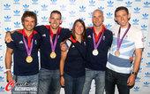 2012年8月7日,2012年伦敦奥运会,自行车奥运冠军维金斯出席活动。 更多奥运视频>> 更多奥...