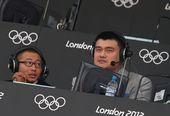 北京时间2012年7月29日,姚明和于嘉在现场解说中国队对西班牙队的比赛。(搜狐摄影/踏雪无痕) ...