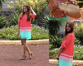 简约的廓形和线条,鲜艳的色彩碰撞,这就是今夏流行的撞色裙,散发着优雅别致、简约醒目的魅力,只需一件,...