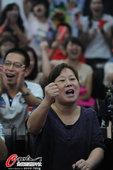 北京时间8月4日,2012年伦敦奥运会羽毛球女单决赛,李雪芮家人助威见证黑马封后。更多奥运视频>> ...