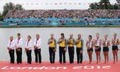 北京时间2012年8月1日,在女子四人双桨的决赛中乌克兰组合塔拉圣柯/多夫格德科/科哲夫尼科娃/德门...