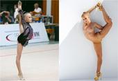 德国艺术体操队的瑞吉娜-泽吉瓦生于1994年,身为艺术体操运动员的她也曾为《花花公子》拍摄一组全裸写...
