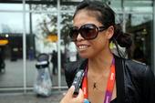 当地时间8月7日,已经结束比赛的中华台北网球队、游泳队、田径队、羽毛球队的大部分运动员离开伦敦返程。...
