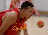 7月24日,当日,中国男篮进行了到达伦敦后的首次适应性训练。