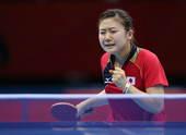 北京时间8月6日凌晨,在ExCeL展览中心进行的乒乓球女团半决赛争夺中,日本队以总比分3-0击败新加...