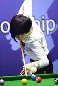 北京时间按2月2日,首届中式台球世界锦标赛女子混合组冠亚军决赛的下半场比赛在江西玉山县举行。中国选手...