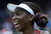 2012年7月31日,2012年伦敦奥运会网球女单第2轮,大威廉姆斯2:0胜沃兹尼亚克。更多奥运视频...