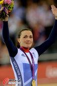 北京时间2012年8月4日,2012年伦敦奥运会场地自行车女子凯林赛决赛,郭爽遗憾摘银。更多奥运视频...