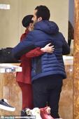 2014年11月6日讯,米兰,当地时间11月5日, Lady Gaga逛Versace品牌店。gag...