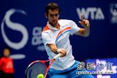 10月8日,2011年中国网球公开赛继续进行。在一场男单半决赛的较量中,西里奇以6-4/6-3横扫同...