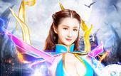 搜狐娱乐讯 日前,有'3D女神'之称的香港当红人气偶像蓝燕拍摄了一组新年魔幻大片写真,分别以一...