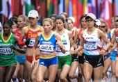 北京时间8月5日下午,朱晓琳出战奥运会马拉松比赛。更多奥运视频>> 更多奥运图片>>