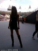当地时间2012年8月12日,英国伦敦,维多利亚-贝克汉姆(Victoria Beckham)在推特...