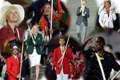 北京时间7月28日,伦敦奥运会开幕式隆重举行,各代表团旗手闪亮登场。
