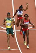 北京时间8月8日晚,2012年伦敦奥运会进入第12日角逐。在奥林匹克体育场进行的女子800米第一轮争...