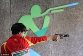 北京时间8月13日凌晨,2016年里约奥运会男子25米手枪速射资格赛第一阶段在奥运射击中心结束争夺。...