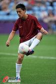 北京时间2012年7月27日,2012年伦敦奥运会男足小组赛,白俄罗斯vs新西兰。比赛开始前,新西兰...
