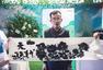 杭州民间奇人展示绝技 用舌头作画引围观